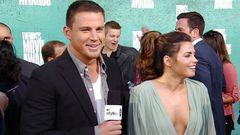 Red Carpet Report: Channing Tatum and Jenna Dewan-Tatum