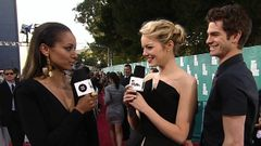 Style Correspondent Kat Graham Interviews Emma Stone And Andrew Garfield