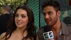 Sway Interviews Kathryn McCormick And Ryan Guzman