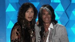 Joe Perry And Steven Tyler Introduce The MTV Generation Award
