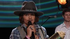 Johnny Depp Honored With The 2012 MTV Generation Award
