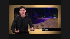 Geordie Shore | Sam faz anjo na neve horroroso