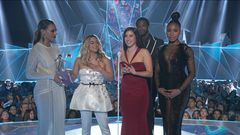 Fifth Harmony Accepts Best Pop Video Award