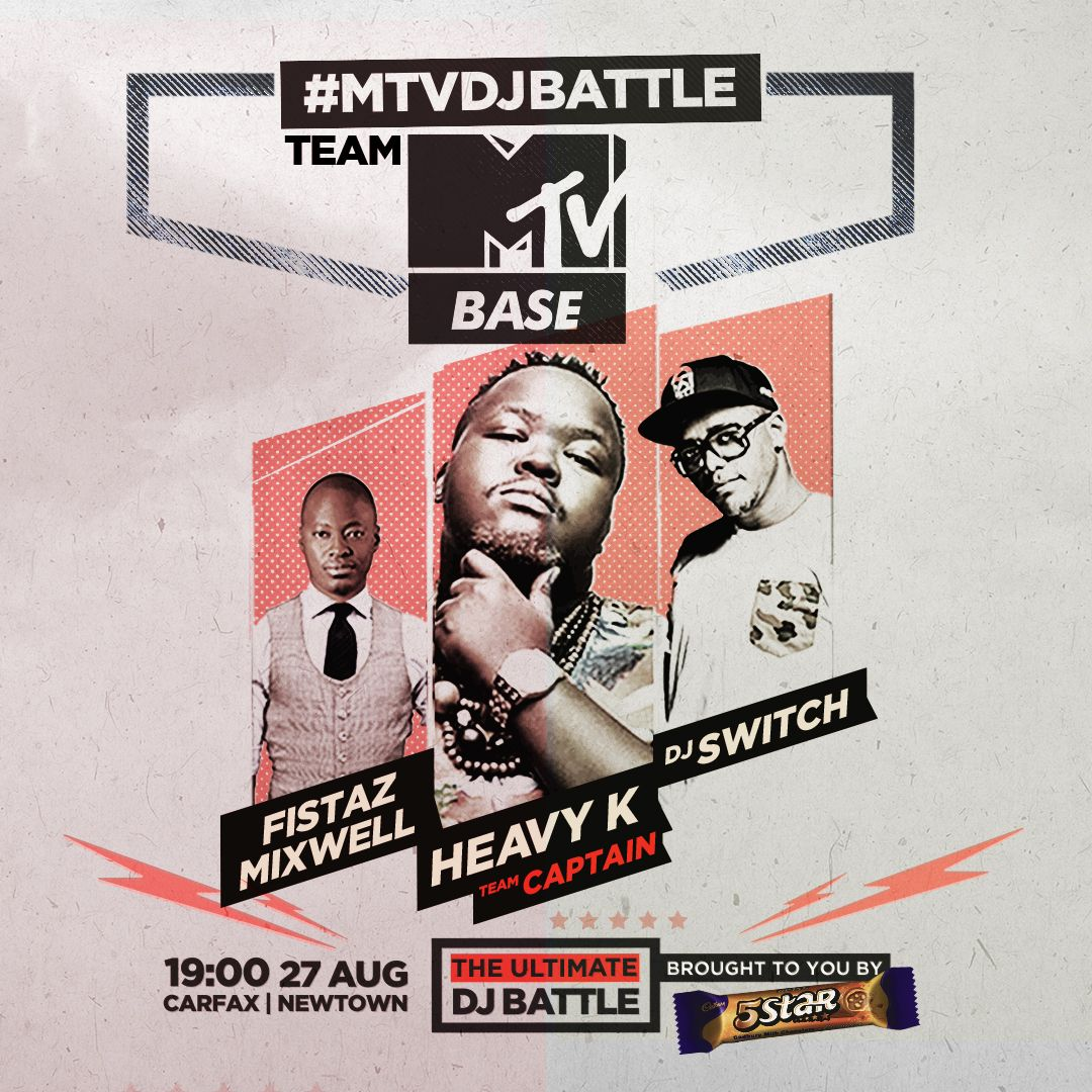 Dj Vigilante And Heavy K To Battle It Out At Carfax Mtv Africa