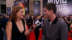 Red Carpet Report: Logan Lerman