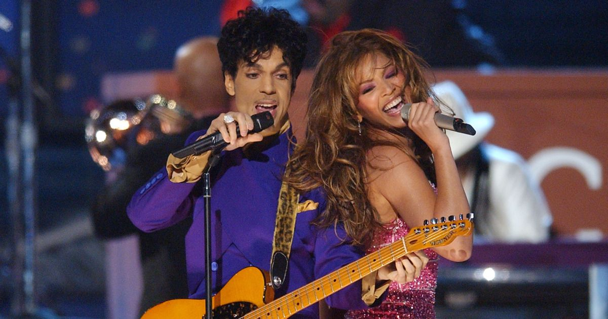 Image result for beyonce prince live