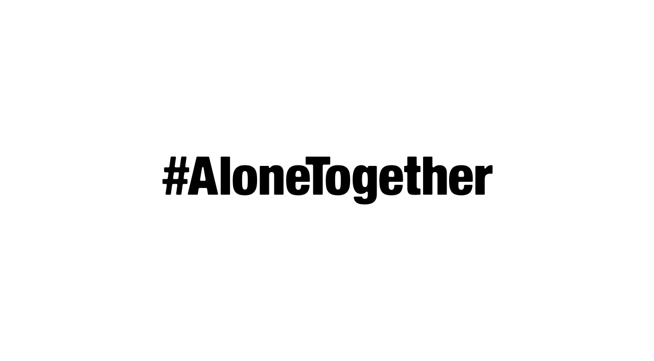 #AloneTogether MTV Challenge ロゴ