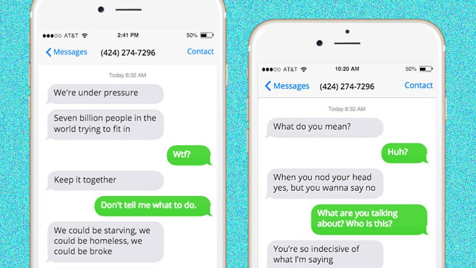 Amazing Website Will Anonymously Text Your Ex Justin Bieber Lyrics ...